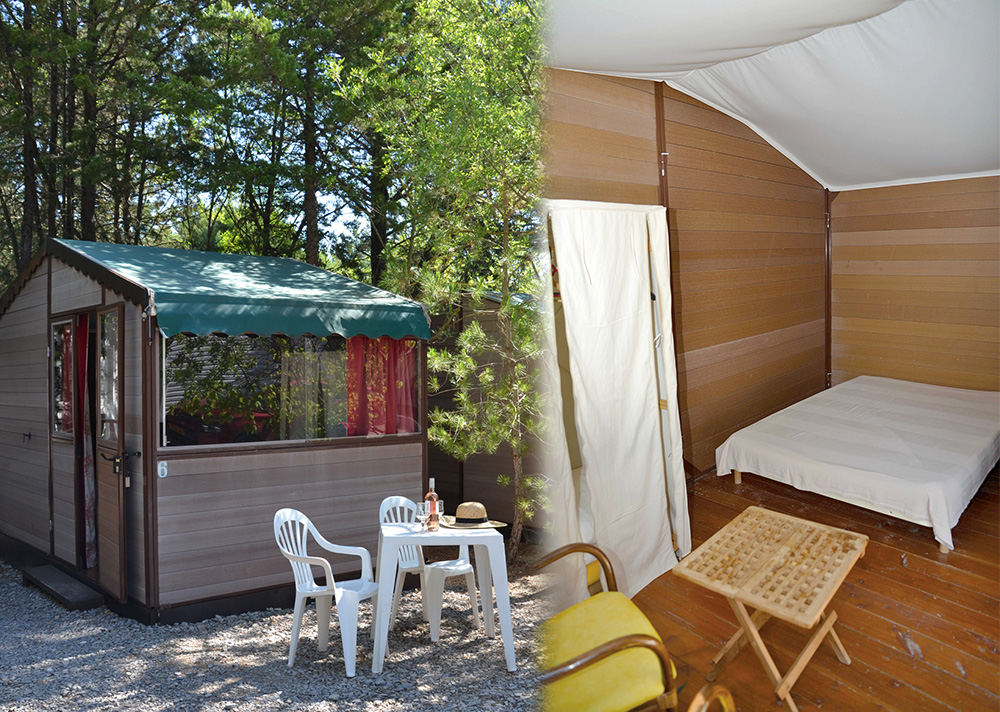 Location cabanon camping, languedoc roussillon, herault, naturisme